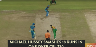 MICHAEL HUSSEY IN CPL