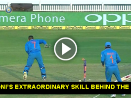 VIDEO: MS DHONI'S EXTRAORDINARY SKILL BEHIND THE STUMPS IND VS NZ 2016