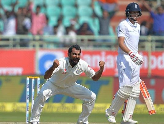 Mohammed Shami's Brilliant Delivery To Joe Root