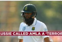 Hashim Amla gets racial abuse from an Australian