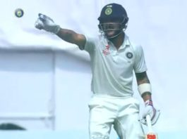 Misunderstanding between Virat Kohli and Cheteshwar Pujara