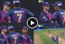 MS Dhoni giving advice to Steve Smith in IPL