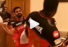 Virat Kohli in IPL 10 RCB with Chris Gayle